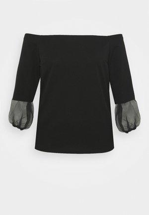 BARDOT  - Topper langermet - black
