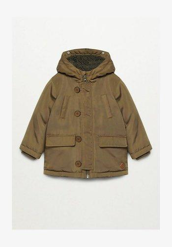 JORDAN - Zimní kabát - khaki