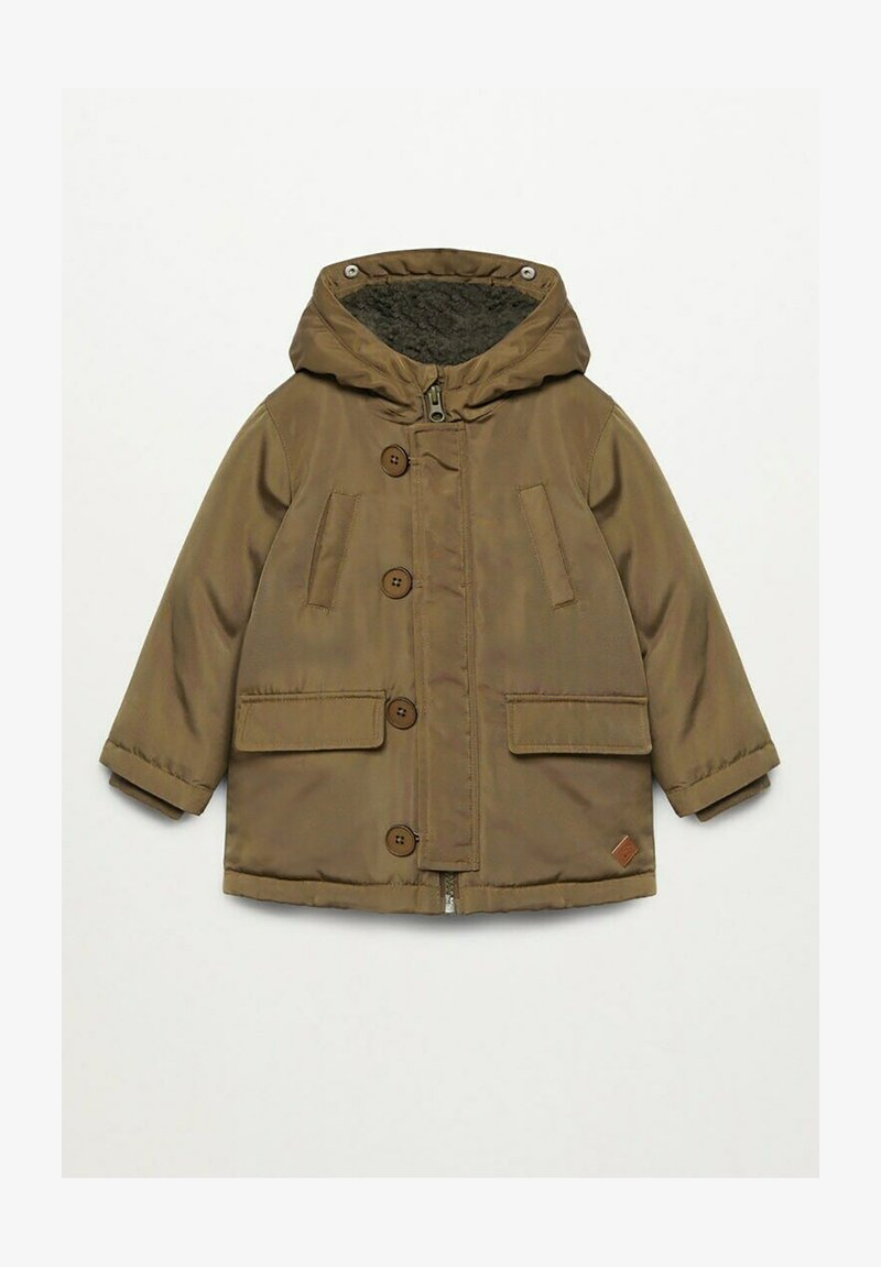 Mango - JORDAN - Zimní kabát - khaki