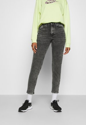 ONLVENEDA LIFE MOM  - Relaxed fit jeans - black denim