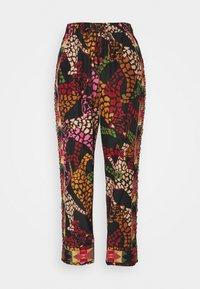 Farm Rio - LEAOPARD PANTS - Trousers - multi - 4