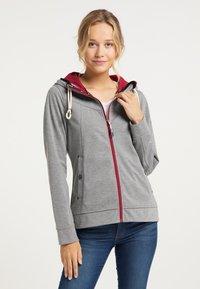 Schmuddelwedda - Zip-up hoodie - grau melange - 0