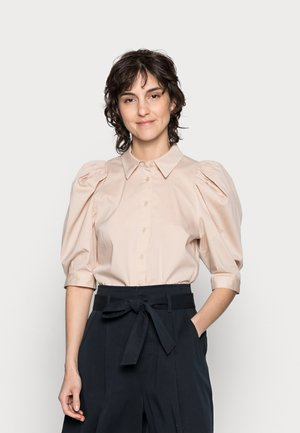HEYA SHIRT - Button-down blouse - sandstone