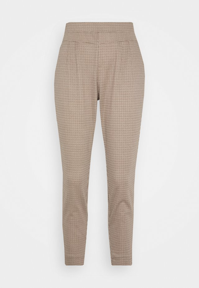 ANETT PANTS - Trousers - taupe/gray
