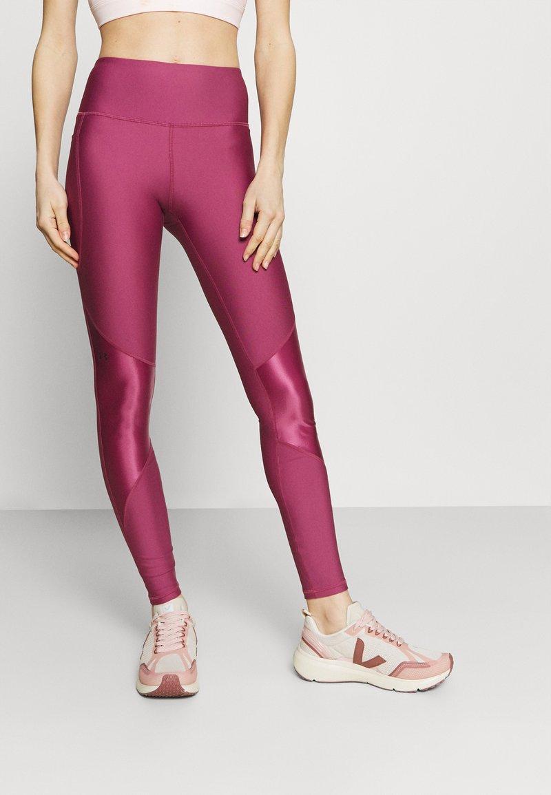 Under Armour - SHINE LEG - Tights - pink quartz
