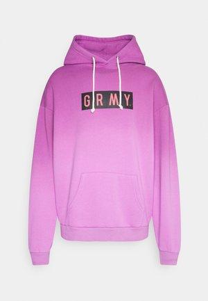 FRENZY GRADIENT HOODIE UNISEX  - Sweater - purple