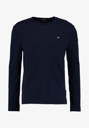 SENOS LS - Long sleeved top - blu marine