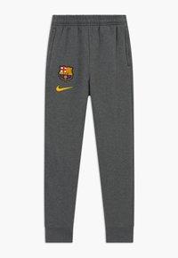 Nike Performance - FC BARCELONA - Club wear - charcoal heathr/amarillo - 0