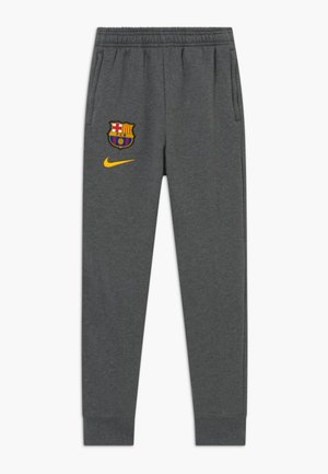 FC BARCELONA - Club wear - charcoal heathr/amarillo