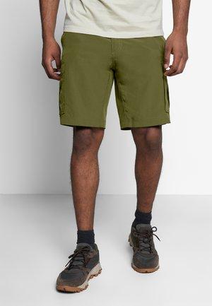 CANYON CARGO - Outdoor Shorts - dark moss