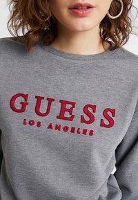 Guess - GIULIA - Sweatshirt - medium charcoal heat - 5