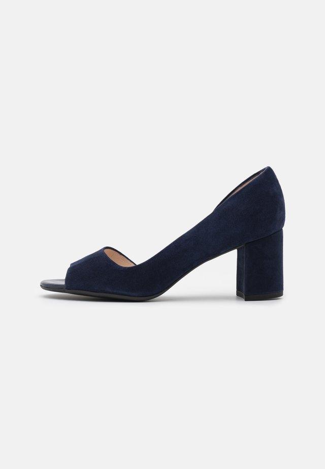 JASMIN - Peep-toes - blue
