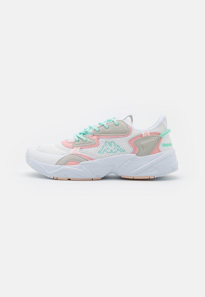 Kappa - CRUMPTON - Sports shoes - white/rosé