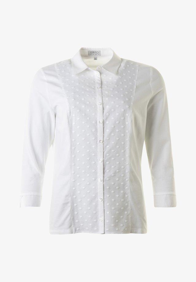 Button-down blouse - 1white