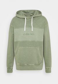 Levi's® - RELAXED FIT NOVELTY HOOD UNISEX - Felpa con cappuccio - light green - 5