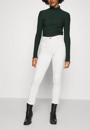 EVE TROUSER - Spodnie materiałowe - cream