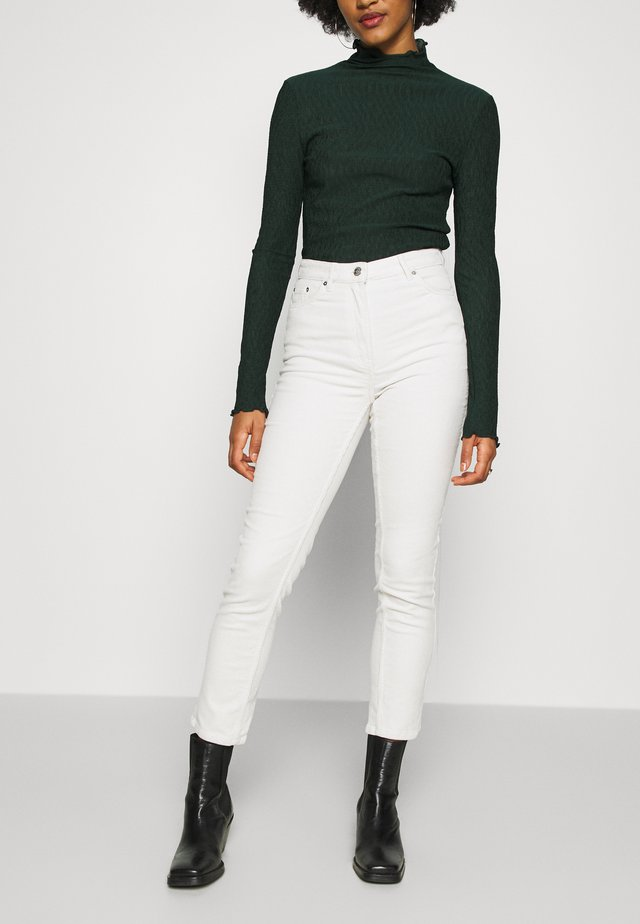 EVE TROUSER - Pantaloni - cream
