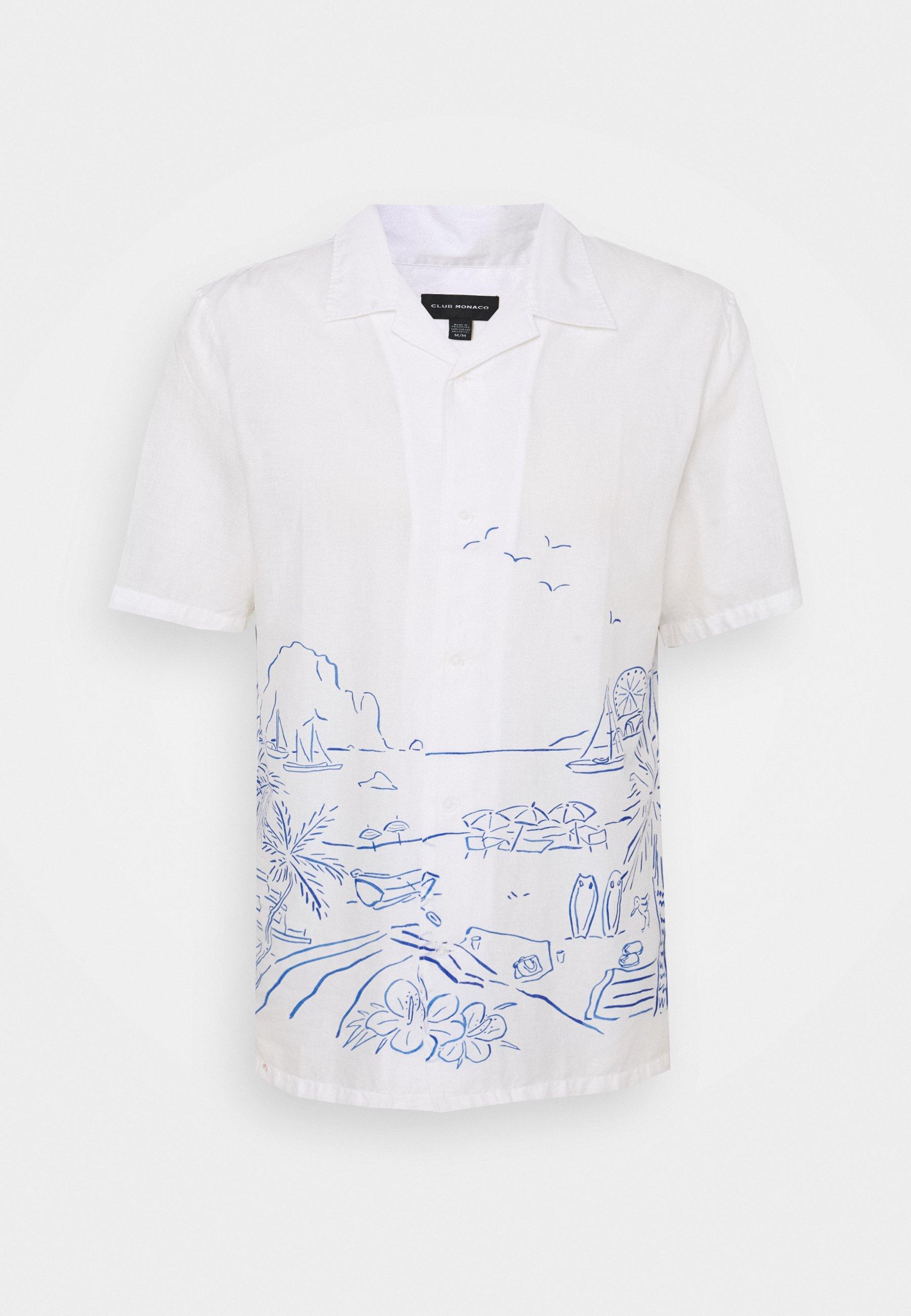 Men PLACED PRINT - Shirt