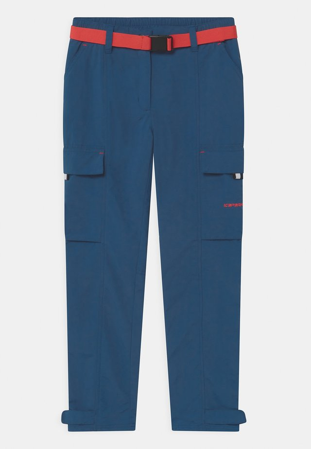 LEMMON UNISEX - Ulkohousut - navy blue