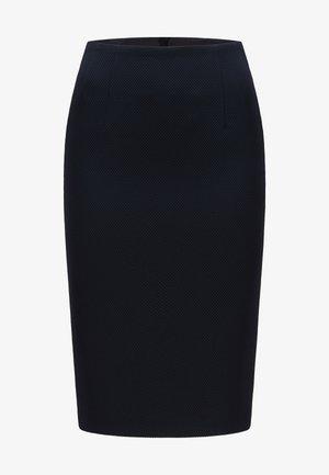 Pencil skirt - open blue