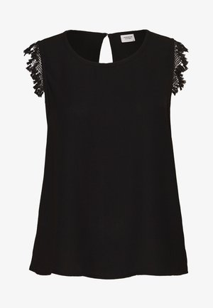 JDYKAIZER SHORT - Blouse - black