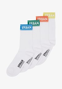 SHORT SPORTY LOGO SOCKS COLOURED CUFF 4 PACK - Calze - multicolor