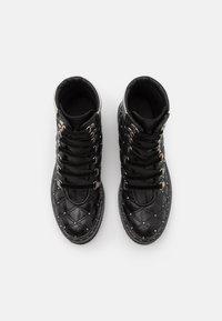 Melvin & Hamilton - BONNIE  - Lace-up ankle boots - black/silver - 5