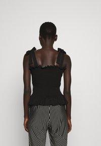 Bruuns Bazaar - CARLA ANNA - Top - black - 2