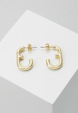 HOOP EARRING - Earrings - gold-coloured