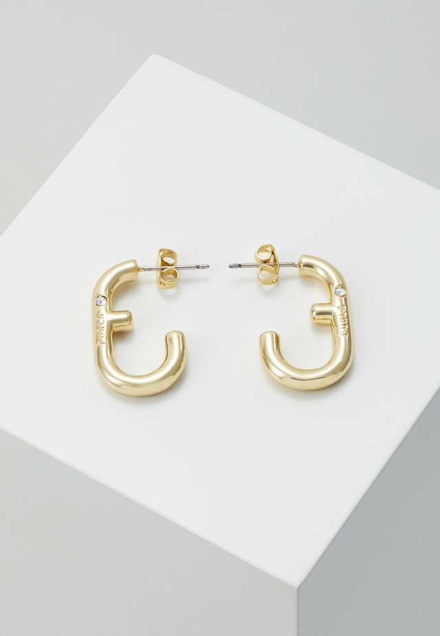 HOOP EARRING - Pendientes - gold-coloured