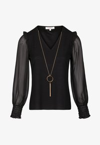 Morgan - Long sleeved top - black - 4
