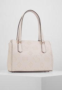 Guess - OPEN ROAD LUXURY SATCHEL - Handbag - nude - 3