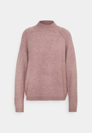 JDYROSSA HIGHNECK RAGLAN - Jumper - twilight mauve