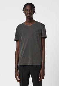 AllSaints - PILOT - Basic T-shirt - black - 0