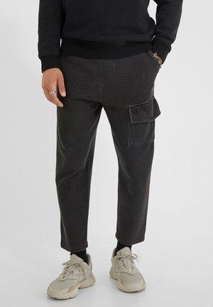 ARIS  - Pantalon cargo - vintage black