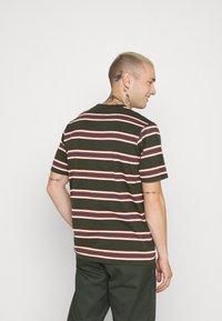 Dickies - LITHIA SPRINGS - Print T-shirt - olive green - 2