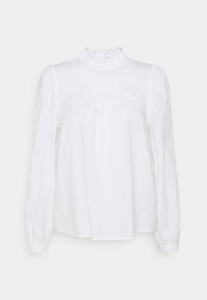GAMZE BLOUSE - Top s dlouhým rukávem - optical white