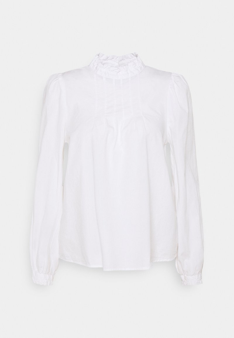b.young - GAMZE BLOUSE - Long sleeved top - optical white