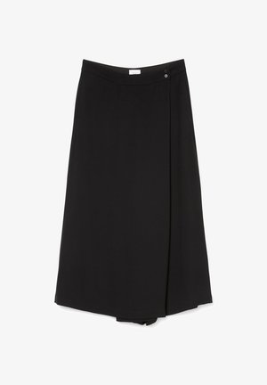 PURE  - A-line skirt - pure black