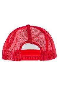 Flexfit - Cap - red/white/red - 4