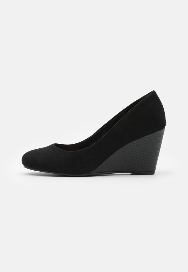 CHELSEA - Wedges - black