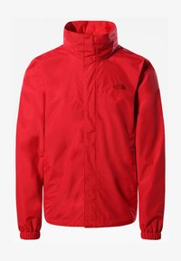 The North Face - M RESOLVE 2 JACKET - Outdoor jacket - mottled red - 0