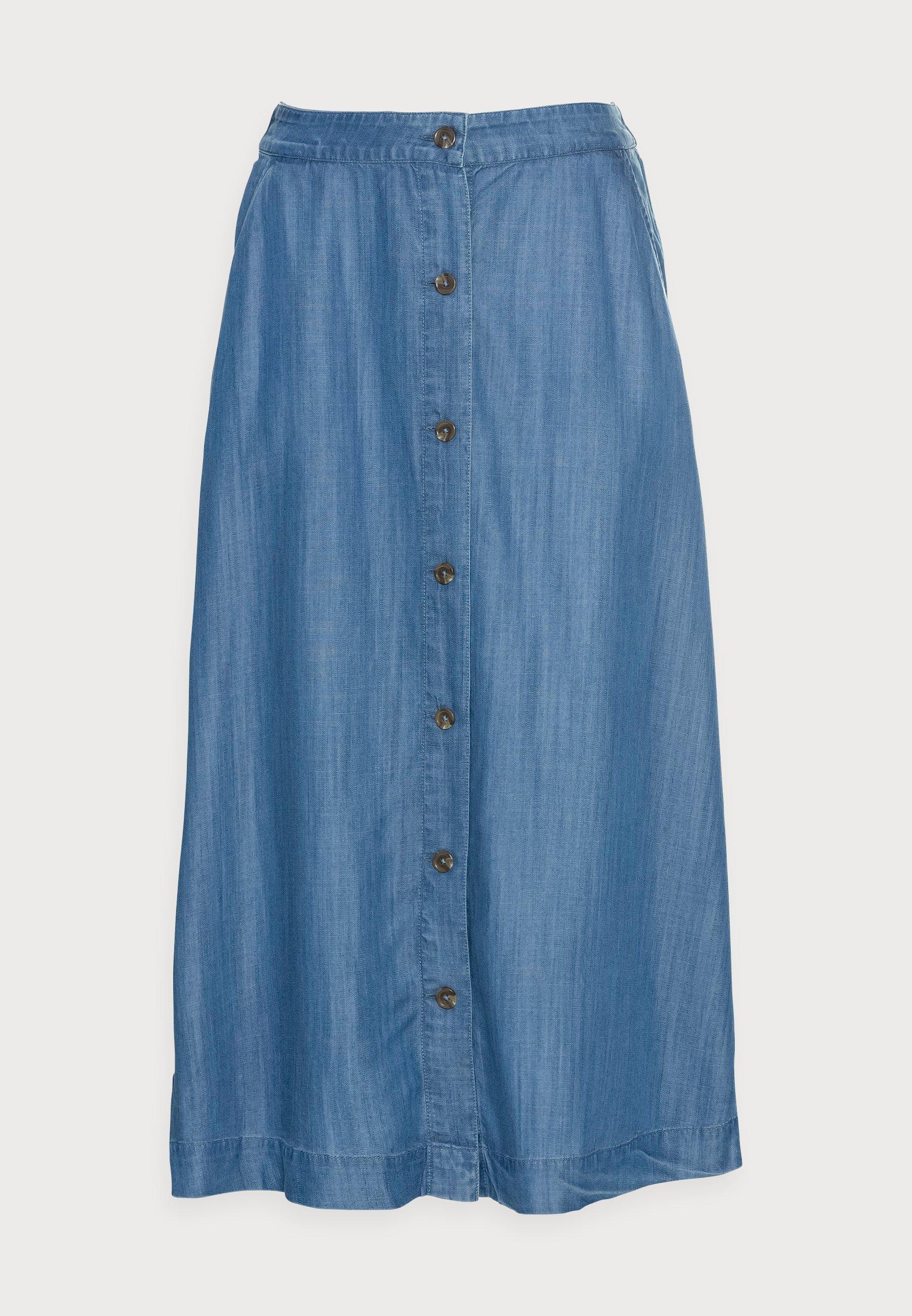 Women TENCEL SKIRT - Denim skirt