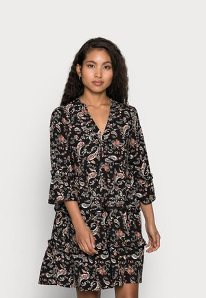 VMSIMPLY EASY SHORT DRESS - Denní šaty - black