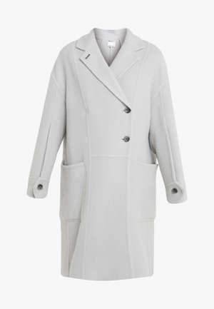 LONG OVERSIZED COAT - Classic coat - light grey