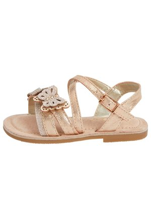 MULTI PASTEL 3D BUTTERFLY SANDALS (YOUNGER) - Sandalen - gold