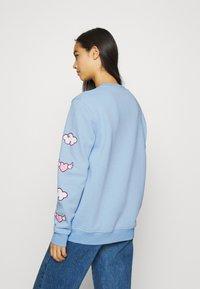 NEW girl ORDER - HELLO HEART - Sweatshirt - blue - 2