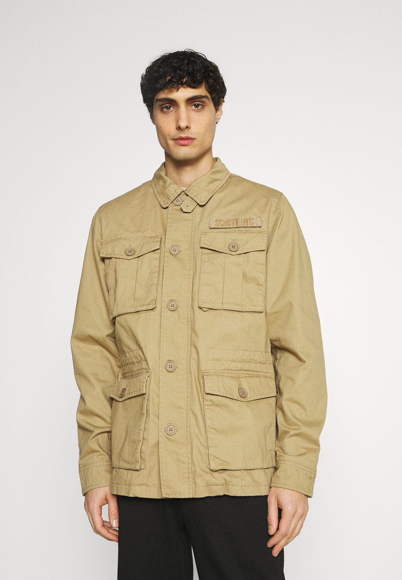 Schott - REDWOOD - Summer jacket - sand