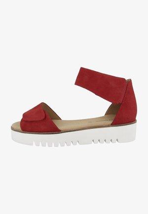 CESENA 02 - Sandalen met plateauzool - red