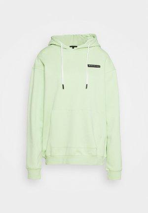 AFTERMATH BADGE  HOODIE UNISEX - Hoodie - neon green